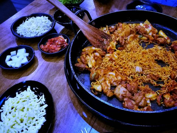 Mr Dakgalbi. Food Food And Drink Ready-to-eat Serving Size Freshness Indoors  Table No People Bowl Plate Rice - Food Staple Healthy Eating Meal Homemade Gourmet Close-up Fried Rice Day Korean Food Korea Musttry