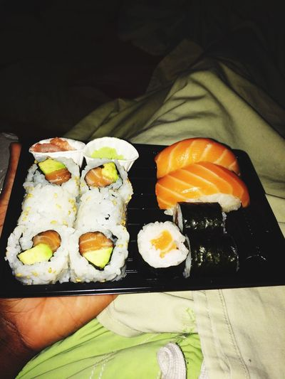 Eating Sushi Home Relaxing GoogNith