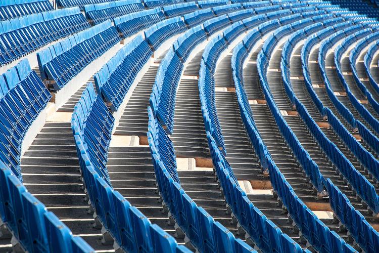 No spectators at bernabéu stadium in madrid