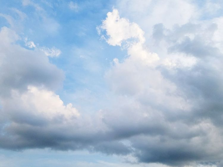 EyeEmNewHere Cloudscape Backgrounds Beauty In Nature Outdoors Sky Weather Day Blue Cloud - Sky Nature No People Abstract