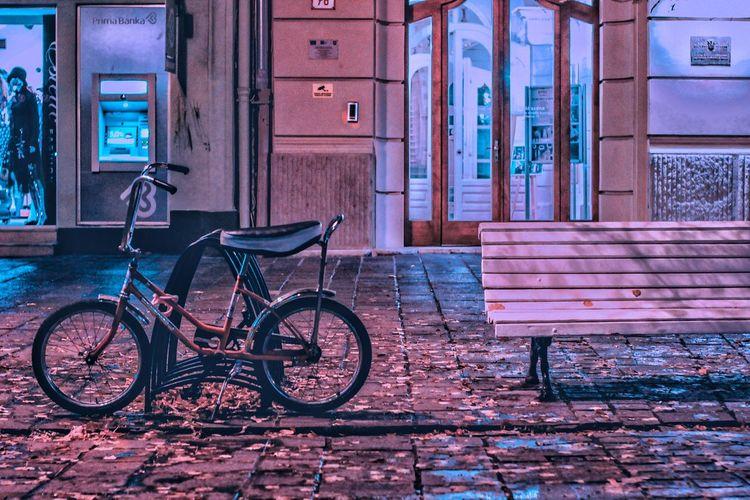 bicycle near an