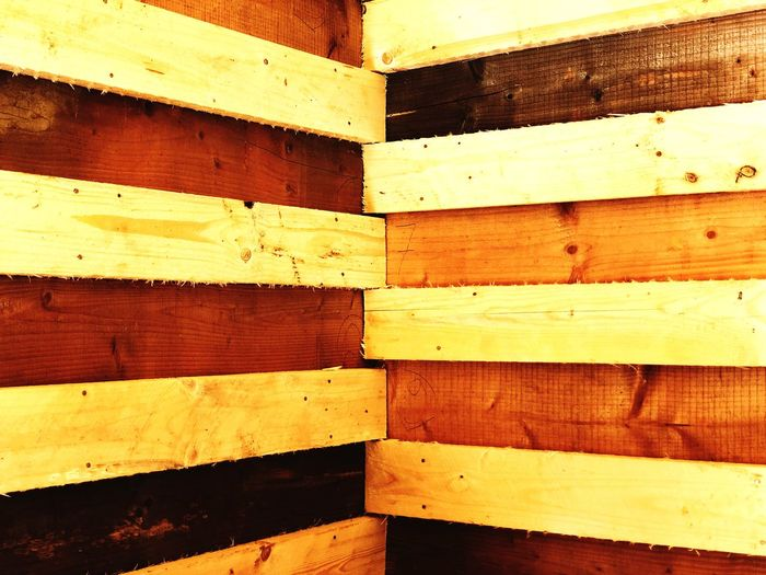 Corner & Wall Full Frame Backgrounds Wood - Material Pattern No People Close-up Textured  Plank Wood Indoors  In A Row Brown The Creative - 2018 EyeEm Awards The Still Life Photographer - 2018 EyeEm Awards