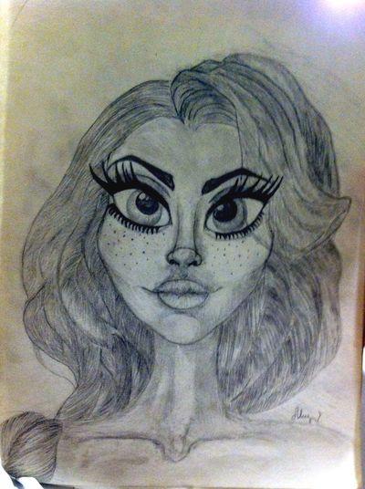 рисунок карандашом рисунок Art Bleckandwite портрет