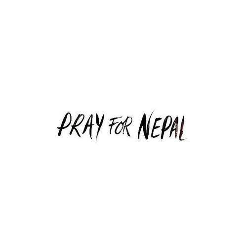 Hkig 2015  PrayforNepal Earthquake rip 尼泊爾