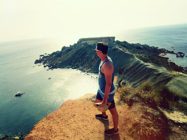 Malta Golden Bay Enjoying The View View Amazing View Seascape