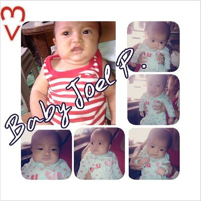 ♥ ko baby JOEL ♥ Cutebaby Gigil Igers Tgif Instadailypic Instamorning Photogrid 62813