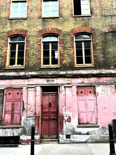 Window Building Exterior Built Structure Architecture Building Day No People Old Residential District Wall Damaged Outdoors Door City