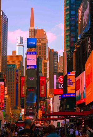Nycphotographer TimesSquare VisualArts Orange Color Outdoors Building Exterior Way2ill Newyorkphotography