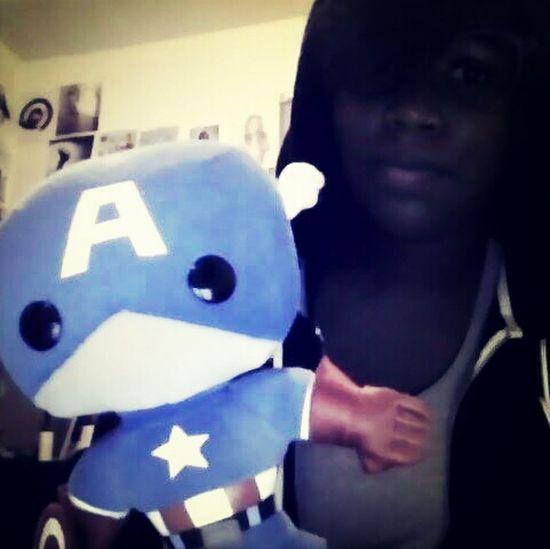 me & captain america