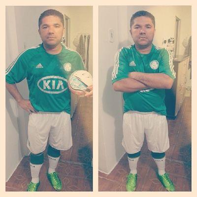 Olha só o naipe de jogador. Te amo, papai! ♥ SEP Palmeiras 100risadinha Love 1914 - 2014