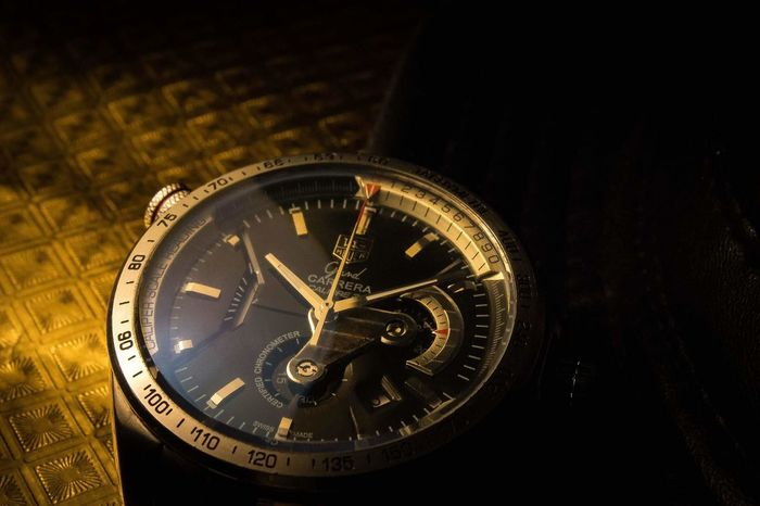 You have been tagged Watch Gold Clock Face Old-fashioned Close-up Time Antique Tag Heuer Gold Colored Clock Minute Hand No People Clockworks tag huer