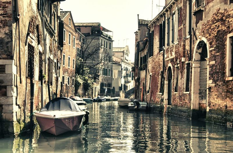 Water Outdoors Architecture Nautical Vessel Building Exterior No People Day Sky Venice, Italy Venice Canals Canal San Francesco Della Vigna Boat Light Venice The Street Photographer - 2017 EyeEm Awards The Architect - 2017 EyeEm Awards Be. Ready.