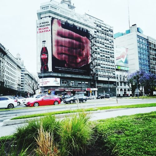 Adapted To The City Car Architecture City Traffic City Life cocacola drinkCocacola Buenos Aires, Argentina