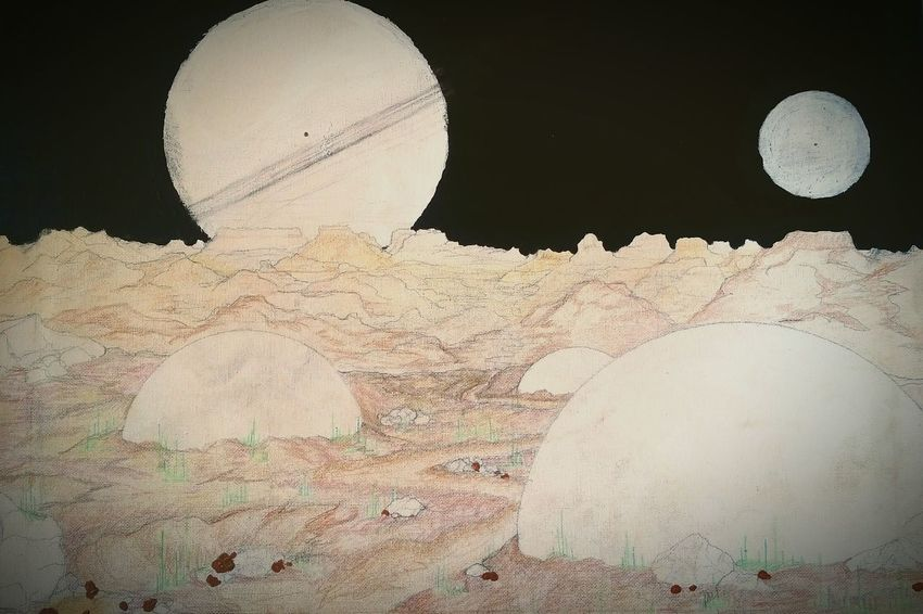 Another Planet Art, Drawing, Creativity Sketch