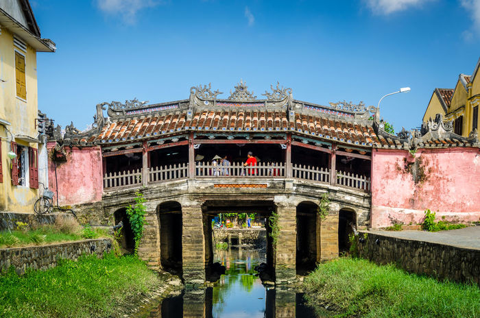 Japanese Covered Bridge in Hoi An Architecture Architecture Built Structure Day Heritage Historical History Hoi An UNESCO World Heritage Site Vintage