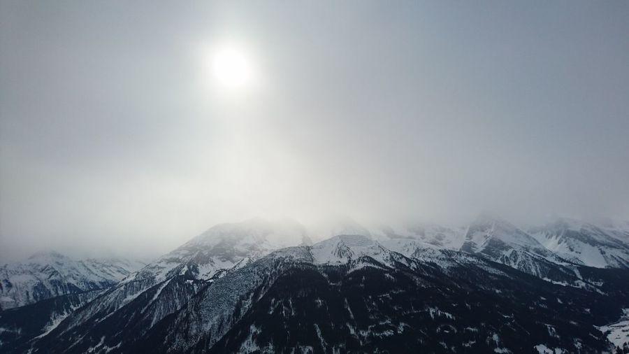 Winter Snow Nature Sun Landscape Mountain Outdoors Zillertal Winter Fog