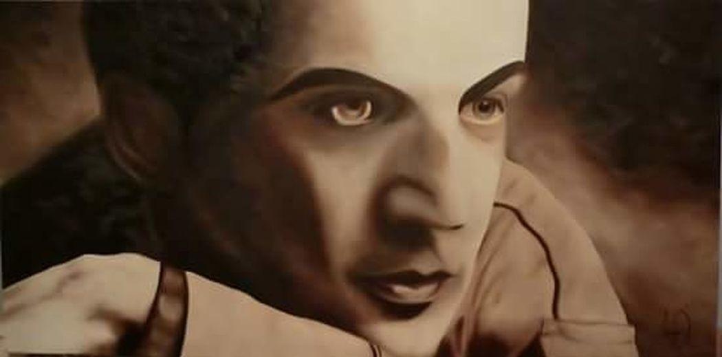 Cuadro al oleo óleo Cuadro Daniel Ortega Grau Pintura Retrato