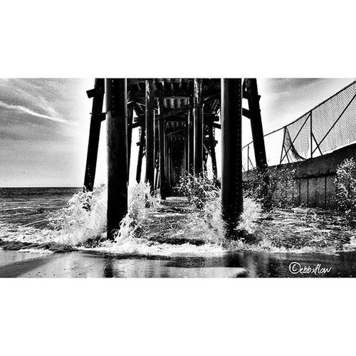 """In the winds of your cape..I've sailed with you..From the shore to the gates..We sway...We're alive somewhere else..Far ahead of our time...In a game of display we break in two..We perform the ornate escape..."" -Deftones Whathappenedtoyou Deftones Blackandwhite Blackandwhitephotography Sealbeachphotography Sealbeach Sealbeachpier Samsungphotography Samsung Samsungonly Androidonly Android AndroidPhotography Galaxys6photography Galaxy Galaxys6 Photography Photooftheday Ebbxflowphotography"