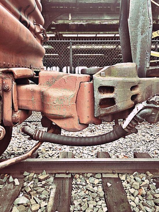 Train Couplering Boxcar
