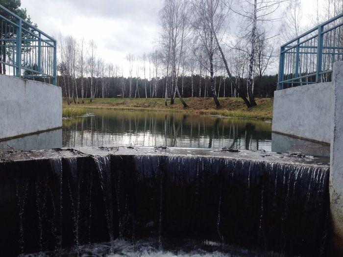 Waterfall #water #landscape #nature #beautiful Belarus