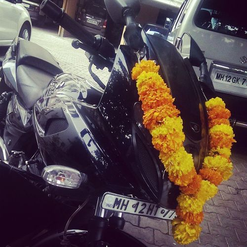 Happy Dasera my BIKE-O !! Dasera Indian Cultural Pune puneinstagrammers