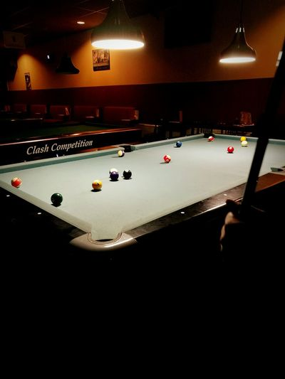 Pooltable 8ball Dark Cozy Clash Competition Hidden Gems  Pivotal Ideas The Color Of Sport
