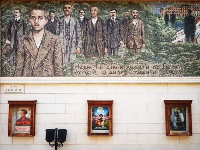 History... Church Architecture Visegrad Andricgrad Pictures Mural Mural Art PRINCIP Gavrilo Gavrilo Princip Colors Art Wall Colorful Serbia Republika Srpska