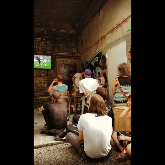 We Are One Football Streetphotography Watching Football Taking Photos