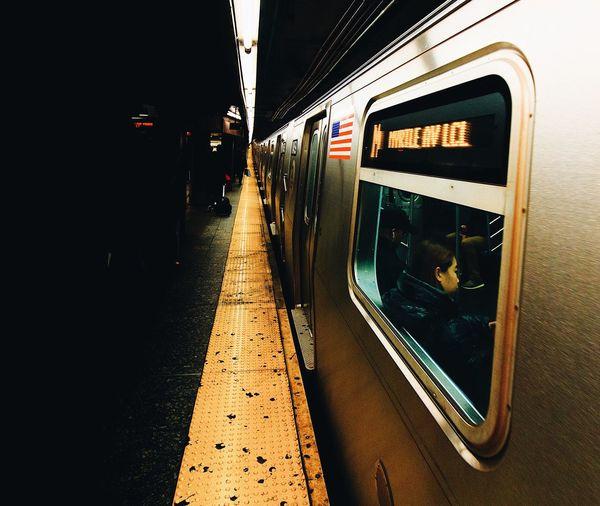 NYC Mta Nyc Transit New York City New York HUAWEI Photo Award: After Dark #urbanana: The Urban Playground