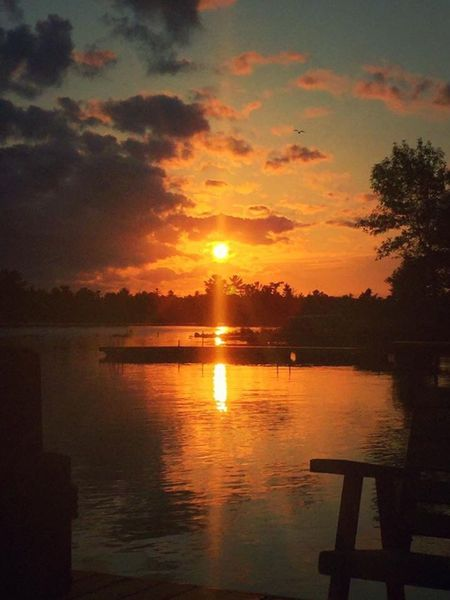 Sunsets Sunset Water Nature Orange Color Tranquility