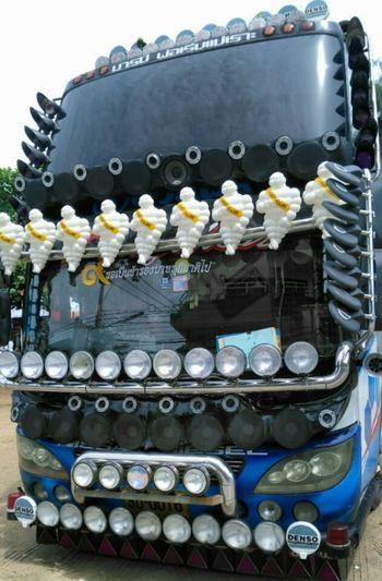 Thai bus mirror