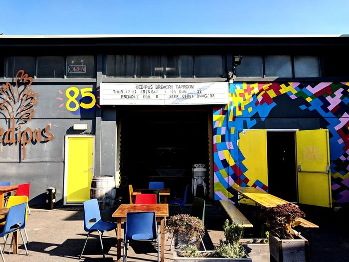 My new favourite brewery. Craft Beer Multi Colored City Chair Film Industry Business Finance And Industry Street Art Store Architecture Building Exterior Graffiti