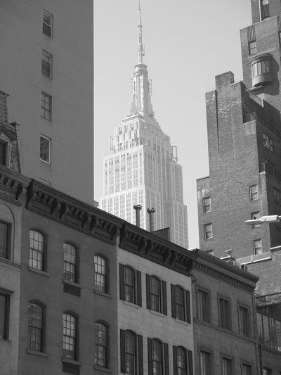 Empire State Building Manhattan New York City Big Apple Architecture Murray Hill East Side Gotham Urban Urbanphotography EyeEm Best Shots - Black + White Eyeem New York City