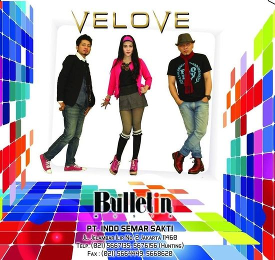 """That's me and my band VELOVE, new single title """"yang satu cinta yang satu sayang"""" please check via you tube official.. Hanging Out Beautiful Love School Flow"""