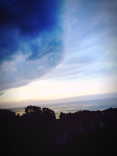 Great Cloud Blue Sea Clouds From My Window Holidaymemories Sky Sky And Clouds