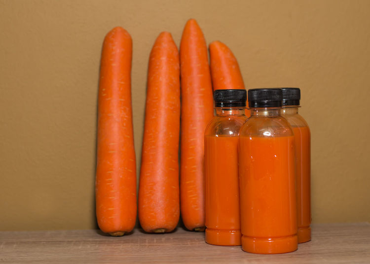 Carrot Juice Close-up Day Food Food And Drink Freshness Healthy Eating Indoors  No People Orange Color Table
