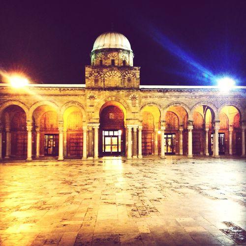 Tunisia Mosquée Zitouna Merveilleux