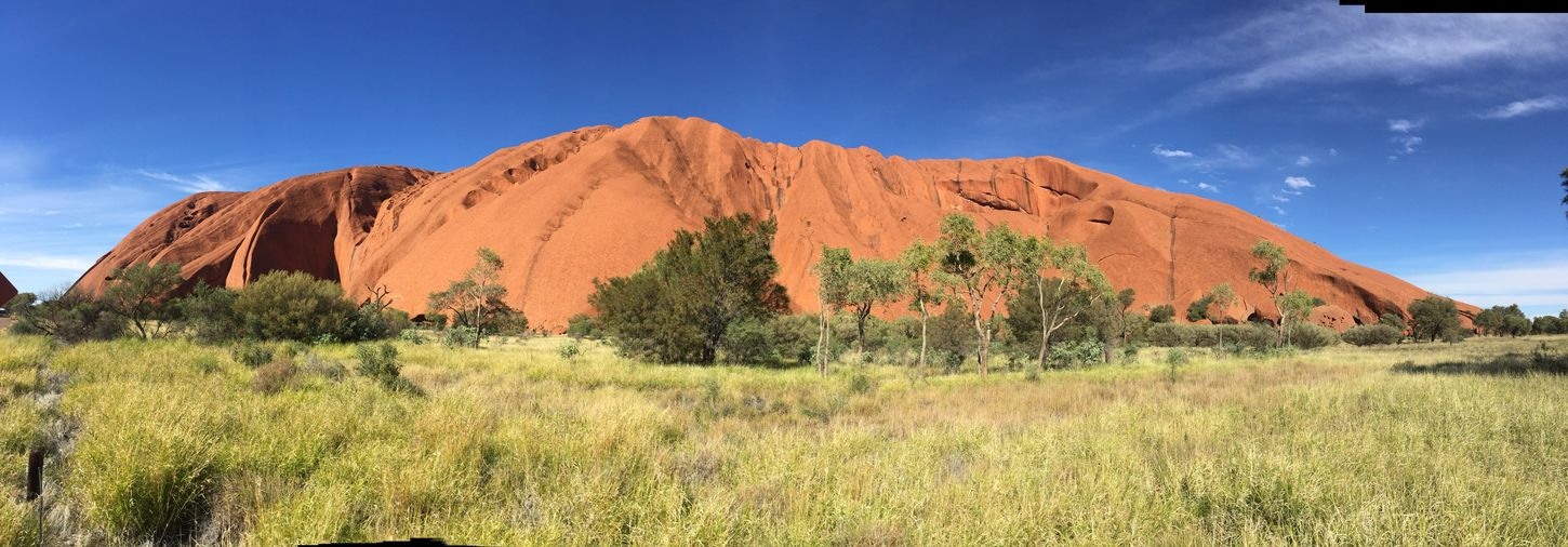 Soaking Up The Sun Red Rock In The Desert Wonderful_places Nofilter#noedit Australian Bushland