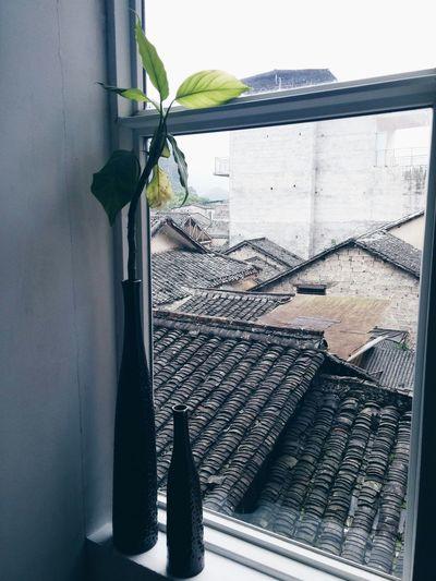 Enjoying The View Window Xingping the view of xingping old town.