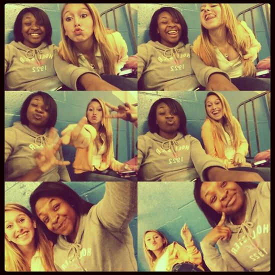 Me && Baee At Gym! Bestfriend Love . <3
