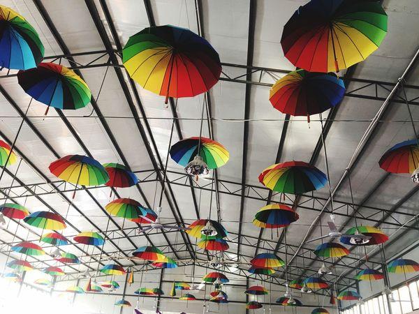 Day Multi Colored No People umbrellas