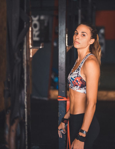 Athlete Athletic Determination Exercising Motivation Active Lifestyle  Beautiful Woman Cross Training Crossfit Energy Fitness Fitnessmodel Gym Healthy Lifestyle Lifestyles One Person Portrait Real People Sport Sport Clothing Stretching Weightlifting Workout Young Woman Young Women