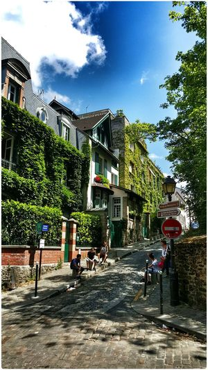 Taking Photos Enjoying Life Enjoying The Light Enjoying The Colours The View From Here Montmartre 2015 07 21