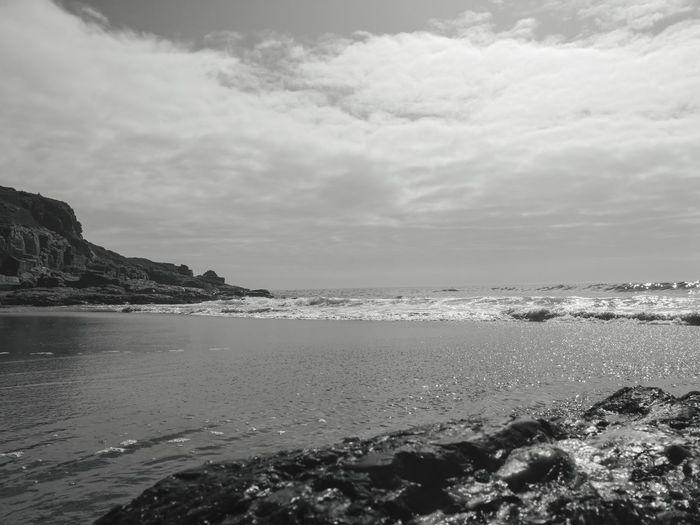 rinsey beach Landscape Cornwall Uk Cornish Life Nature Walks In Cornwall Beach Photography Blackandwhite Water Sea Beach Wave Sand Summer Sky Horizon Over Water Landscape Low Tide Rocky Coastline Seascape Coastline
