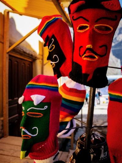 Colors Of Peru Hanging Multi Colored Outdoors People Of Peru Peru Street Photography Peruvian Art Travel Peru