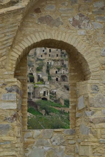 Architecture Built Structure Arch History The Past Building Exterior Day Building No People Outdoors Wall - Building Feature Damaged Nature Weathered Window Old Ruin Ancient Abandoned Wall Old