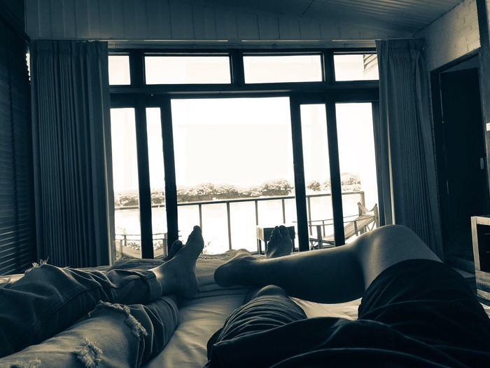 Window Indoors  Low Section Personal Perspective Body Part Human Body Part Human Leg Day Relaxation Home Interior