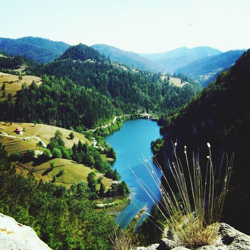 Lake, National park Tara, Serbia The Illusionist - 2014 EyeEm Awards