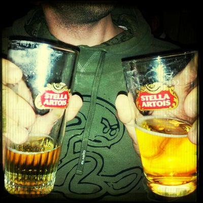 Een pintje en een #boereke. Een dodelijke cocktail!