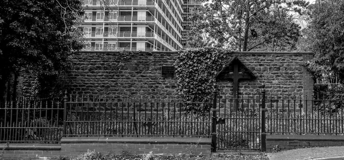 Nun's graveyard, Notre Dame, Northampton Graveyard Nunnery Notre Dame Monochrome Photography Black And White Blackandwhite FUJIFILM X-T2